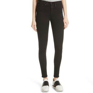High Waist Rag & Bone Black Skinny Jeans